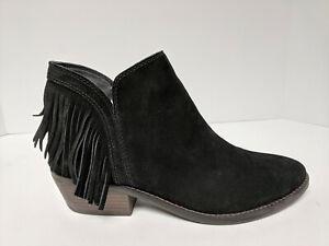 Lucky Brand Freedah Ankle Boots, Black, Womens 10 M