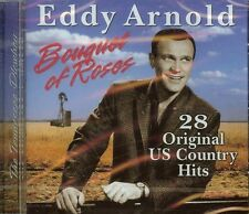 EDDY ARNOLD - BOUQUET OF ROSES - 28 ORIGINAL COUNTRY HITS - CD - NEW