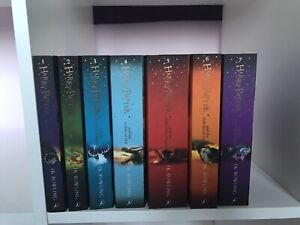 Harry potter book set 1-7, complete paperback collection