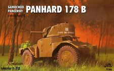 PANHARD 178 B ARMED WITH FL TURET 1/72 RPM panzer