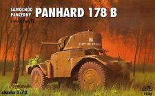 PANHARD 178 B Voiture Blindée AVEC FL TOURELLE (armée française marquage) #72306 1/72 RPM