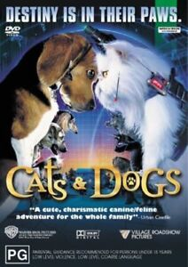Cats and Dogs DVD R4 Like New! FREE POST