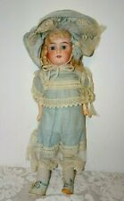 "Antique German ARMAND MARSEILLE FLOREDORA Doll 19 1/2"" Tall ~ Blonde Hair!!"