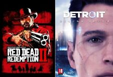 Red dead redemption 2 Ultimate edition+Detroit Become Human PC (STEAM OFFLINE)