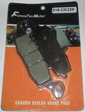 FOREVER RUN MOTOR KEVLAR BRAKE PAD 216-CK229 2006-11 KAWASAKI EX 650 NINJA 650R