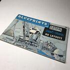 VTG 1960 BLUEPRINTS FOR ATLAS SNAP-TRACK HO LAYOUTS BOOKLET 30 PAGE