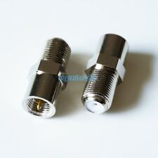 1Pcs FME Plug Male To F Female Jack RF Connector Straight M/F Adapter