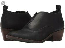 Lucky Brand Women's Leather Fimberly Black Ankle Booties Size 7.5 M