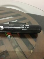 Florida Marlins Alex Arias Signed Autographed Game Used Bat Worth