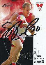 ✺Signed✺ 2012 SYDNEY SWANS AFL Premiers Card SAM REID
