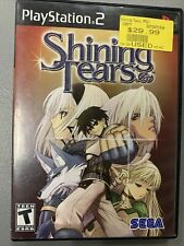 Shining Tears (Sony PlayStation 2, 2005) PS2 Game Case *No Manual* Tested