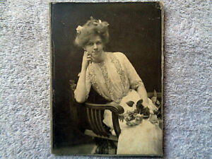 Cabinet Card - Mother, died March 12th 1926
