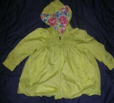 Kids Headquarters Baby Girl Hooded Lime Green Bubble Jacket Size 24 Mos Hoodie