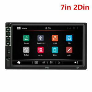 7in 2Din Touch Screen Car Stereo Radio MP5 Player Kits FM/USB/AUX/ Mirror Link