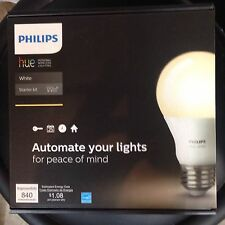 NEW• Philips hue Personal Wireless Lighting. White. Starter Kit. 840 Lumens
