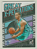 2019-20 Panini Donruss GREAT X-PECTATIONS #15 PJ WASHINGTON JR RC Rookie Hornets