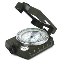 Professional Pocket Military Geology Compass Outdoor Camping Hiking Tools