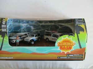 GREENLIGHT COFFRET 4 MINIATURES FLORIDA SUMMER BASH 1/64   3 INCHIES