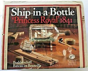 "Ship In A Bottle Kit Princess Royal 1841 Holland Model SM31 24cm 9-1/2"" NEW"