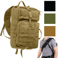 Tactical Sling Trasport Pack Crossbody Bag Army MOLLE Strap Concealed Carry CCW