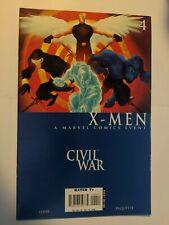 Civil War X-Men #4 December 2006 Marvel Comics Layman Hine Paquette