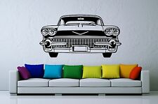 Wall stickers adesivi muro CADILLAC garage auto vintage america 90X170 lusso
