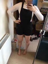 Women's Topshop Dungaree Shorts