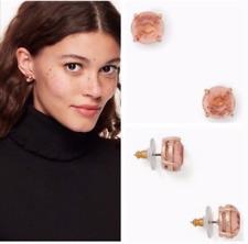 New Kate Spade Stud Earrings Light Peach Gumdrop Earrings