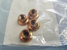 New OEM GM Chevrolet Copper Nut Set x4 90502418