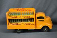 Vintage Smith-Miller Pressed Steel Coca-Cola Truck with Bottles