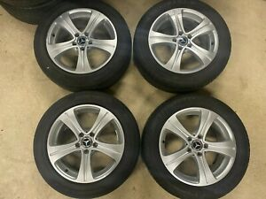 """Genuine Mercedes E Class Wheels and Tyres 17"""" inch 225/55/17 A2134011200 W213"""