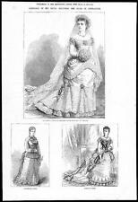 1879 Mariage du Duc de Connaught-nuptiale robes Louise Margaret (202)