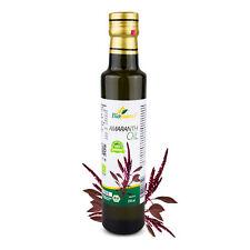 Certified Organic Infused Amaranth Oil 250ml Biopurus