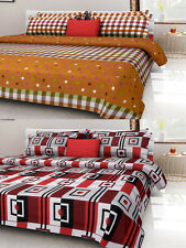 Homefab India Combo of 2 Cotton Double Bed Sheet (Combo796)