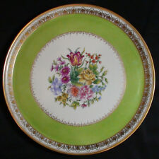 Vintage Suisse Langenthal Hand Painte Dresden Style Floral Porcelain Tray 1948
