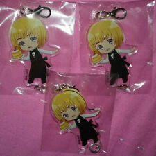 Set of 3 Attack on Titan Armin Arlert Charaum Cafe Acrylic Charms