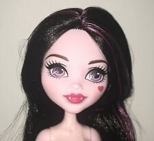 Monster High Vampire Kitchen Set Draculaura Nude Vampire Doll NEW to OOAK