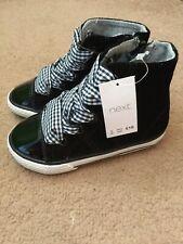 BNWT siguiente Bebé Niña Hi Tops Zapatillas Zapatos Talla 5 Infantil