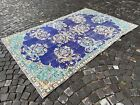 Carpet, Turkish large rug, % 100 wool rug, Vintage from the 1960s   6,0 x 9,1 ft
