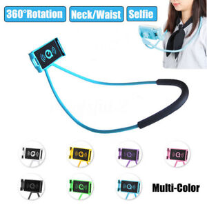 Universal Lazy Neck Hanging Holder For Cell Phone iPad 360° Stand Hand Free Nice