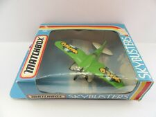 Matchbox Skybusters SB-18 Wild Wild Stunt Plane - Mint/Boxed