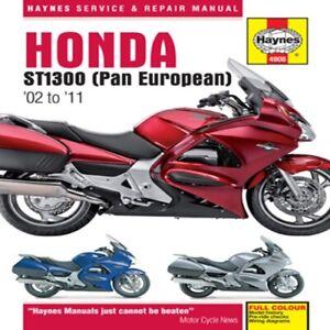 Haynes 2002-2011 Honda ST1300 Owners Maintenance Repair Service Shop M4908