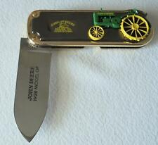 NEW Franklin Mint John Deere Model GP 1928 Tractor Collector Knife New In Box