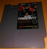 💥🤜🤕 IRON MIKE TYSON'S🥊PUNCH-OUT NICE CARTRIDGE! NES 1987🎮TESTED SUPER GAME
