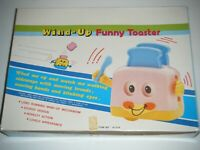FUNNY TOASTER Plastic Wind Up Toys Display Box (12 Total)