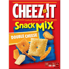 NEW SEALED CHEEZ IT SNACK MIX DOUBLE CHEESE 9.75 OZ BAKED SNACK MIX