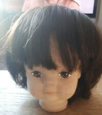 Brown Page Boy Style Dolls Wig