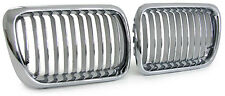Grilles CHROME capot pour BMW e36 berline compact coupé facelift & convertible