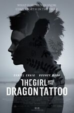 """THE GIRL WITH THE DRAGON TATTOO Movie Poster - Flyer - 11x17"""" - ROONEY MARA"""
