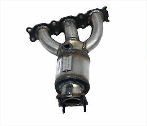 07-12 XC90 3.2L Rear Left Side 4 5 6 Manifold Catalytic Converter Davico 17293
